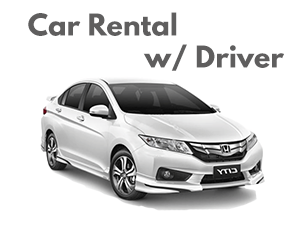car rental with driver
